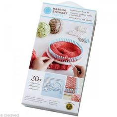 Martha Stewart Crafts Lion Brand Yarn Knit and Weave Loom Kit - Compact enough to take anywhere, the adjustable knit and weave loom kit makes knitting and weaving easy for both beginners and pros Loom Knitting Stitches, Knifty Knitter, Loom Knitting Projects, Yarn Projects, Knitting Needles, Loom Knitting For Beginners, Knitting Videos, Knitting Kits, Double Knitting