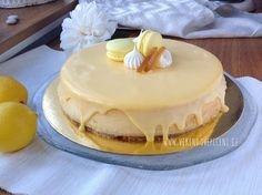 Citronový cheesecake – mamarecepty Cheesecake, Lidl, Food And Drink, Birthday Cake, Cupcakes, Recipes, Lemon, Cupcake Cakes, Cheesecakes