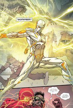 "The Flash #3 - ""Speed City"" (2016) pencil & ink by Carmine Di Giandomenico color by Ivan Plascencia"
