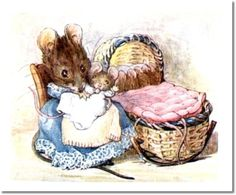 The Tale of Two Bad Mice - 1904 - Hunca Munca Got the Cradle