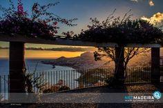 Miradouro para a baia Portugal, Paradise, Celestial, Sunset, Outdoor, City, Dusk, Wood, Photos