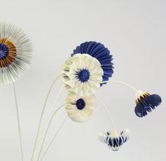 Paperflowers by jorine oosterhoff