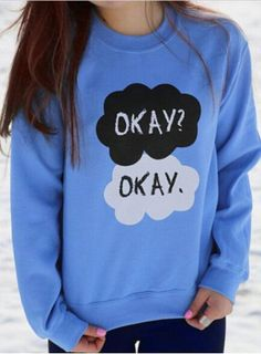 OKAY  ~ Fresh  Pullover Sweatshirt