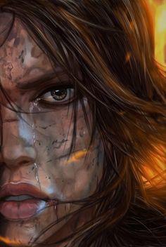 Lara Croft..