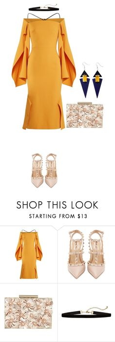 """""""Untitled #112"""" by shinrashuya on Polyvore featuring Roland Mouret, Valentino, Phase Eight and Toolally"""