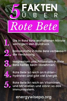 17 grosartige grunde warum rote bete gesund ist energywise - The world's most private search engine Healthy Cooking, Healthy Tips, Diet Motivation Quotes, Daily Motivational Quotes, Health Tips For Women, Calorie Intake, Blog Love, Funny Tumblr Posts, Beetroot