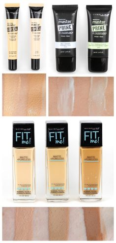 New Maybelline Complexion - need to try that primer