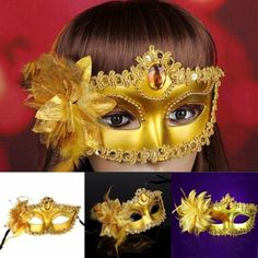 Lots-50-100-Pcs-Gold-Venetian-Halloween-Masquerade-Ball-Carnival-Eye-Masks-Party