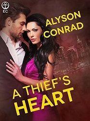 4 stars for A Thief's Heart by Alyson Conrad  http://purejonel.blogspot.ca/2015/06/AThiefsHeart.html
