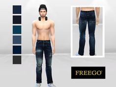 Sims 4 CC's - The Best: Jeans for Men by McLayneSims