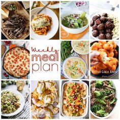 Weekly Meal Plan #84 via @Lemonsforlulu