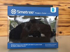Smatree Power Case with Built-in Power Bank for GoPro Hero 4 Session Camera #Smatree