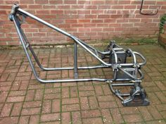 Trike frame chassis , soft tail