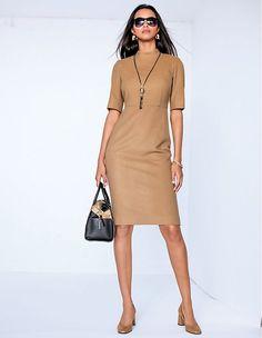 Winterkleid mit Kaschmir   MADELEINE Mode