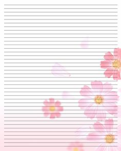 Printable Writing Paper (105) by Aimee-Valentine-Art.deviantart.com on @deviantART