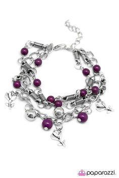 Paparazzi Accessories: Like Fine Wine - Purple