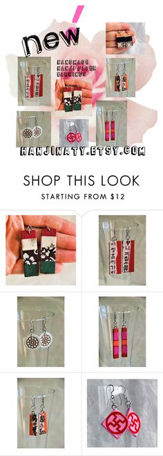 """New earrings!"" by hanjinaty ❤ liked on Polyvore"