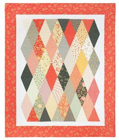 Make a Stunning Simple Diamond Quilt with Jenny Doan of Missouri Star Quilt Co!