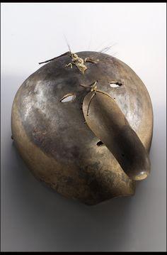 Booger Mask. Eastern Band of the Cherokee ca. 1920. Jackson & Swain Co. North Carolina