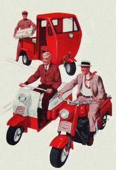 1959 Cushman Scooters