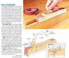 Make Sanding Block - Sanding Wood
