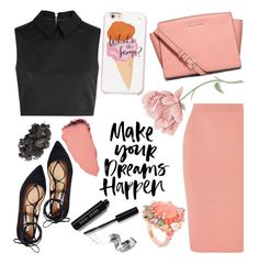 """""""Dreams"""" by tropicalcraze ❤ liked on Polyvore featuring McQ by Alexander McQueen, STELLA McCARTNEY, Steve Madden, MICHAEL Michael Kors, Kate Spade, Bobbi Brown Cosmetics and Anabela Chan"""