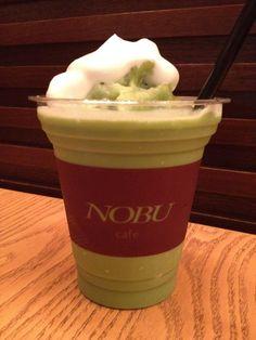 Nobu Green Tea Smoothie by Nobu Cafe Tokyo.