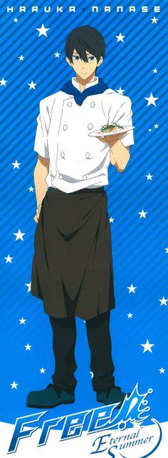 Tags: Scan, Official Art, Kyoto Animation, Nanase Haruka (Free!), Free!