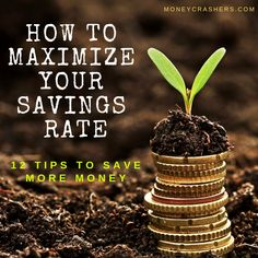 It's an answer no one really wants to hear: You have to live far, far below your means and save it. You have to maximize your savings rate, the percentage of your net income that you put toward savings and investments. Take Money, Earn More Money, Ways To Save Money, How To Make Money, Retirement Ideas, Saving For Retirement, Investing Money, Saving Money, Savings And Investment