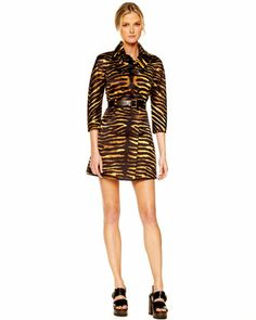 +Duchesse+Double-Breasted+Tiger+Trench+by+Michael+Kors+at+Neiman+Marcus+Last+Call.