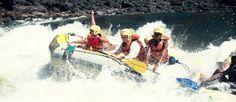 Rafting on the Zambizi River
