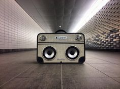 the Gt mookbox - vintage suitcase boombox