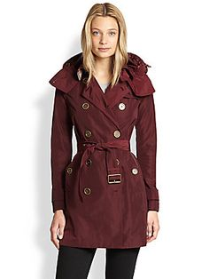 Burberry Brit Double-Breasted Trenchcoat