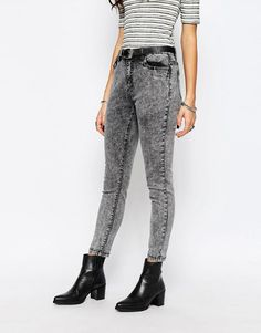 Pimkie | Pimkie Acid Wash Jeans at ASOS £10.50