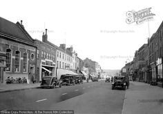 Bridport, East Street 1940, from Francis Frith
