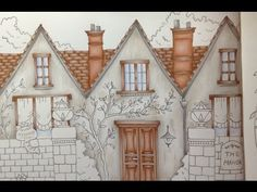 ROMANTIC COUNTRY - the first tale - prismacolor pencils - part 1 - YouTube