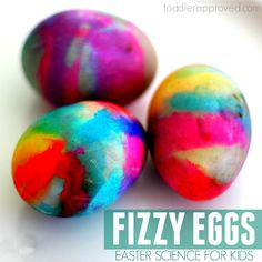 Toddler Approved!: Volcano Egg Dyeing