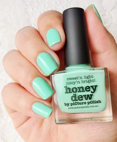 Picture Polish : Honey Dew