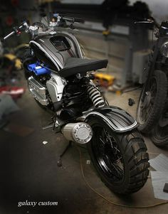 BMW K1200RS Custom Pro by Galaxy Custom