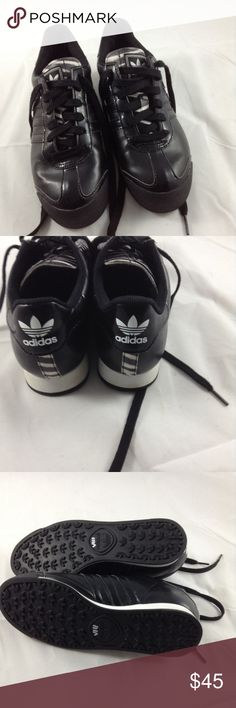 Adidas Samoa Black and white Adidas Samoa, size 6 adidas Shoes Athletic Shoes