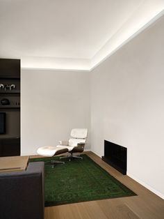 Indirect lighting brings a nice atmosphere in your living room. Available on www.discoveringdecor.be