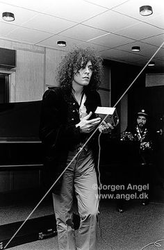 Marc Bolan (photo by Jorgen Angel)