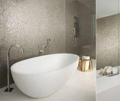 Modern Glam Bathroom | Photo Gallery: Caroline McKeough's Favourite Interiors | House & Home | Photo via MR Architecture + Decor