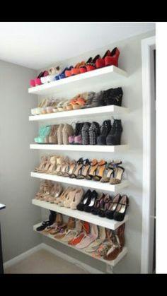 IKEA Lack Hack Einfache und gnstige Alternative zum Schuhregal Schuhregal Alle Schuhe auf
