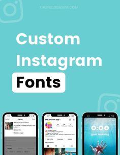 Preview Instagram, Instagram Font, Instagram Story, Caption For Yourself, Font Generator, Instagram Marketing Tips, Custom Fonts, New Fonts, Social Media Tips