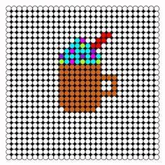 perler bead pattern starbucks - Google Search