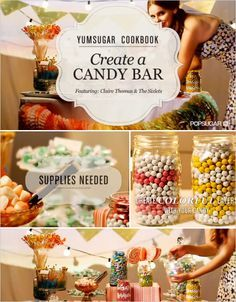 Do It Yourself Candy Buffet.