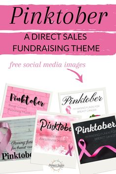 Learn how to run a successful Pinktober fundraising drive to keep your direct sales biz moving AND do good in the world! Grab the free images for Facebook >> #directsales #directselling #partyplanconsultant Fundraiser Themes, Fundraising Activities, Pink Snacks, Direct Sales Tips, Body Shop At Home, Learn To Run, Thank You Messages, Social Media Images, Thirty One Gifts