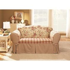 Country Plaid Sofa And Loveseat Features Specifications