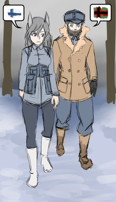 """""""I looked for first time about Suojärvi's Winter War-history and first thing that popped out was """"The Terror of Morocco"""" fought close to karelian-speaking Suojärvi. Aurora E. Juutilainen from StrikeWitches is based on Aarne Juutilainen"""" Pop Out, Comic Artist, Morocco, Aurora, First Time, War, History, Comics, Twitter"""